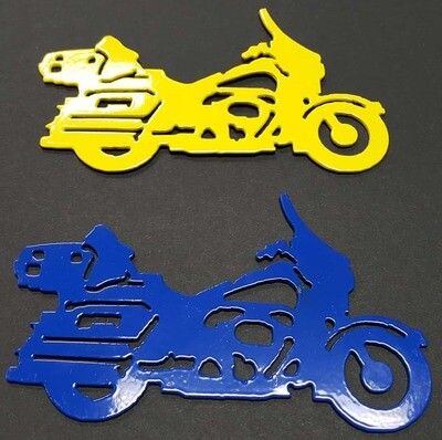 Dresser Style Motorcycle, Metal Christmas Tree Ornament, Stocking Stuffer