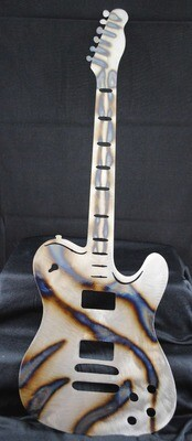 Electric Guitar Metal Wall Art