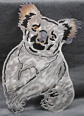 Koala Bear, Metal Wall Art Decor