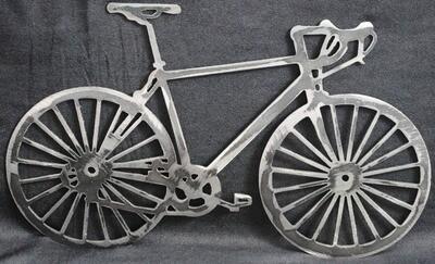 Metal Bicycle Wall Art