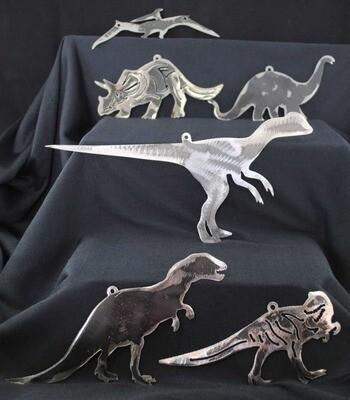 Metal Dinosaur Pack