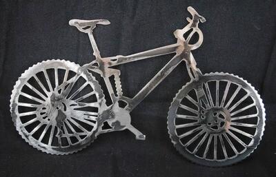 Metal Mountain Bike, Wall Art Decor