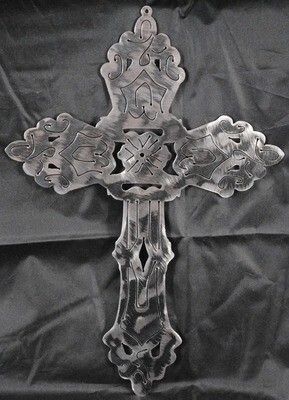 Metal Ornate Cross, Wall Art Decor