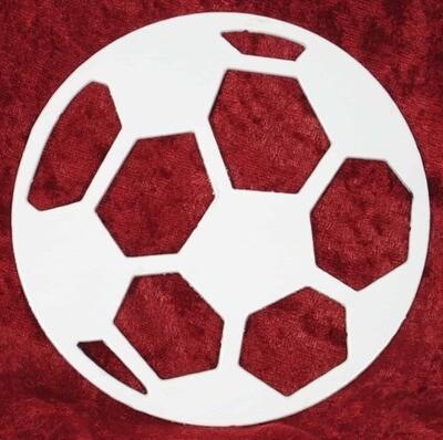Soccer Ball, Metal Wall Art Decor