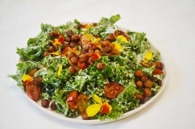 Cashew Kale Caesar