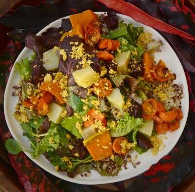 Fall Rainbow Salad