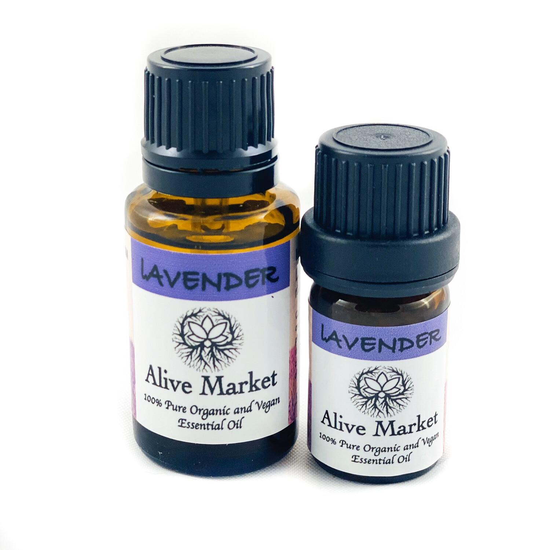Lavender Organic Essential Oils