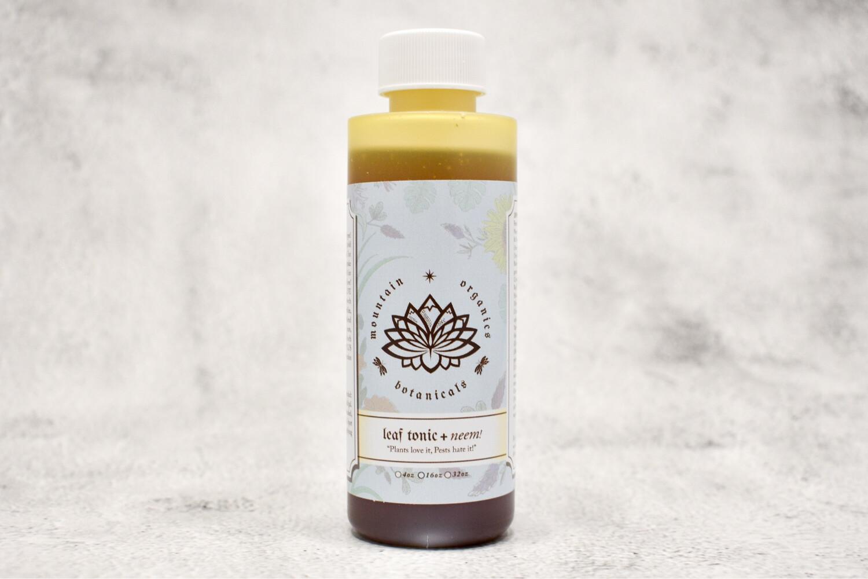 Mountain Organics - Leaf Tonic + Neem - 4oz