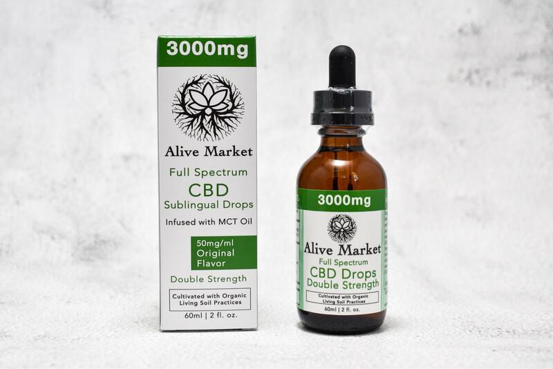 3000mg (50mg/ml) Full Spectrum CBD Oil | 60ml