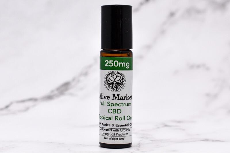 250mg Full Spectrum CBD Topical Roll On | 10 ml
