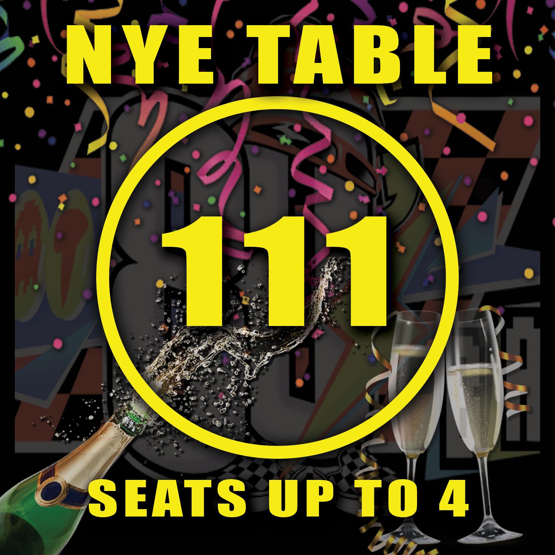 Main Floor Table 111