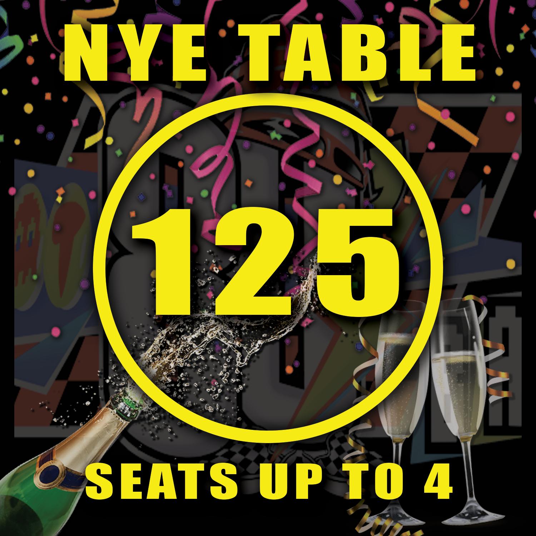Main Floor Table 125
