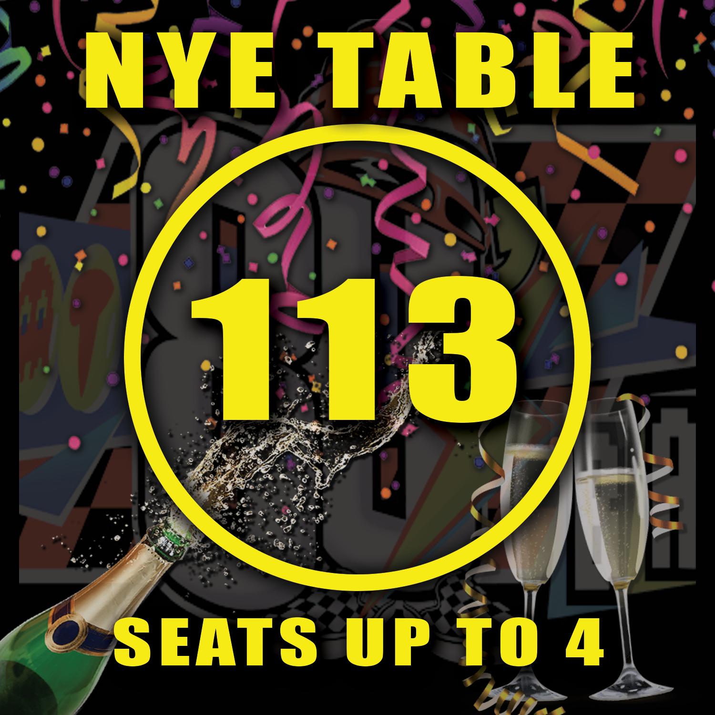 Main Floor Table 113
