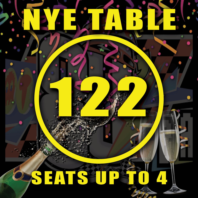 Main Floor Table 122