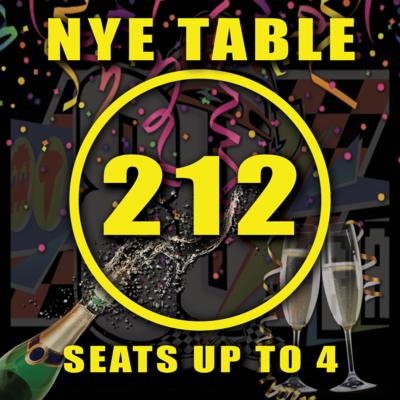 Main Floor Table 212