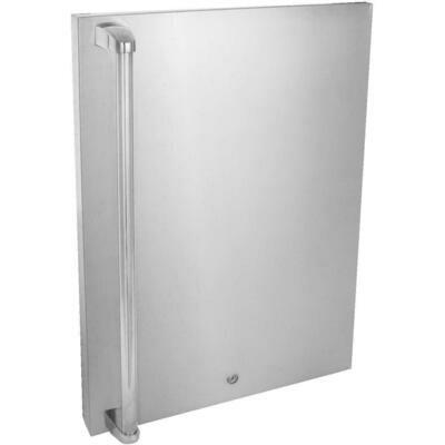 BLAZE Stainless Steel Door Upgrade (4.5 CU FT Fridge)