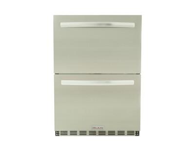 BLAZE 5.1 CU. FT. Double Drawer Refrigerator