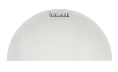 BLAZE Kamado Half Round Heat Deflection Plate