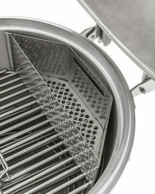 BLAZE Kamado Easy Light Indirect Cooking System