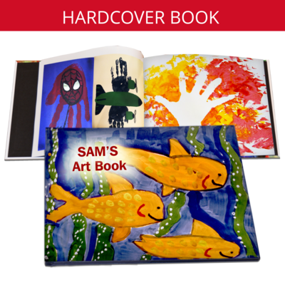 Hard Cover Book - Artwork Emailed