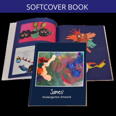 Soft Cover Book - Artwork Sent to Us