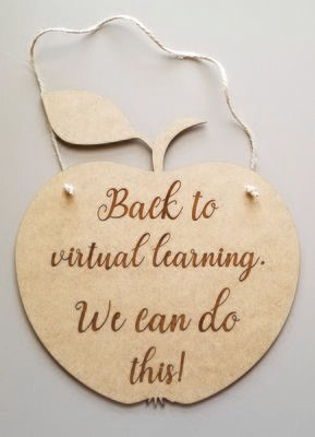 Back to School Virtual Laser Cut Signs