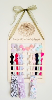 Hairbow and Accessories Holder