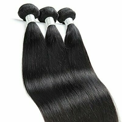 Straight Remy Hair Weft/Bundle Hair Extensions