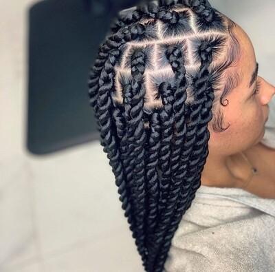 Medium Twists Braids