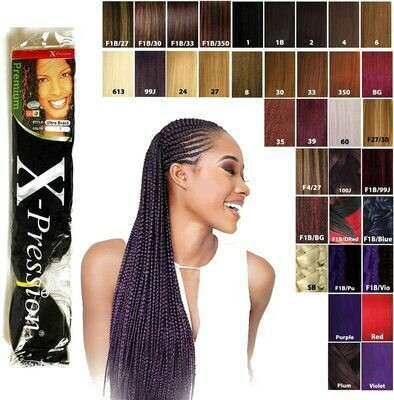 X-pression Premium Original Ultra Braids