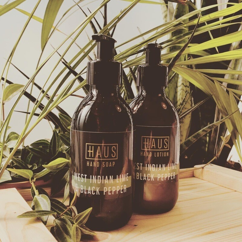 West Indian Lime & Black Pepper Hand Soap (200ml) & Hand Lotion (200ml) Duo