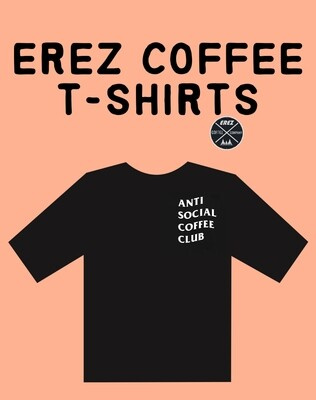 Erez Coffee co shirt
