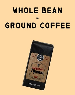 Whole Bean/Ground Coffee