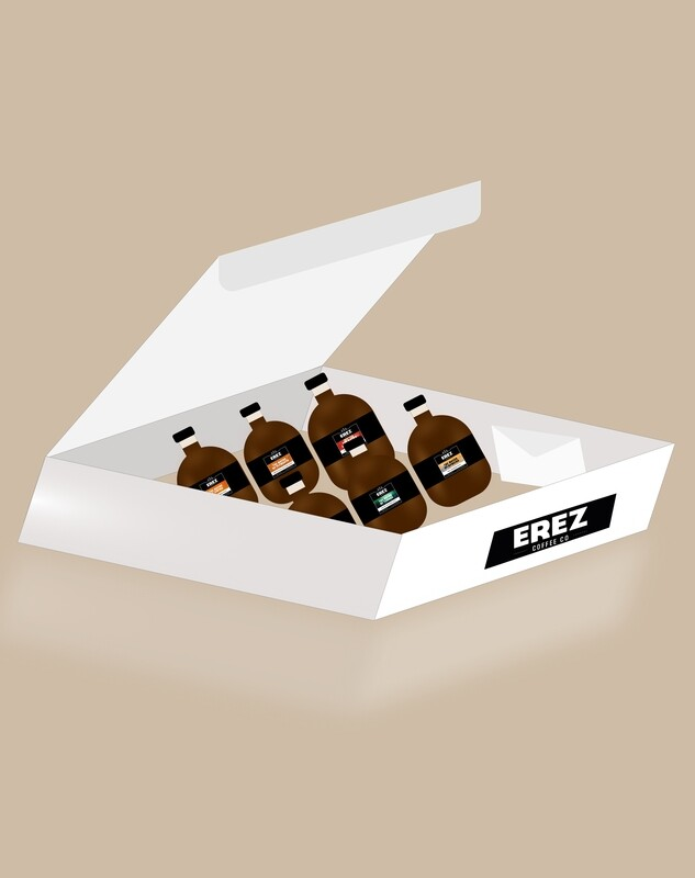Customizable taster pack gift with box & card