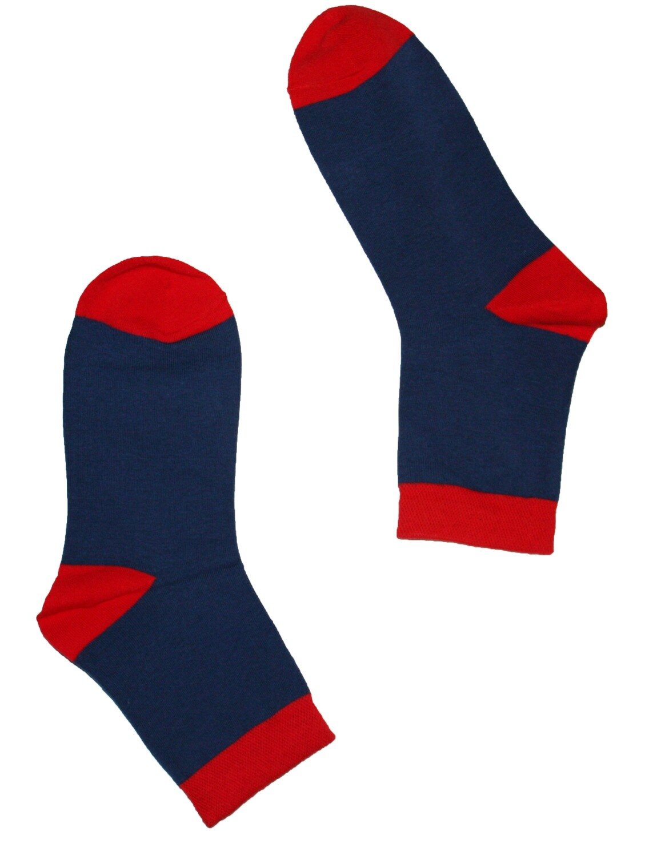 Red x Blue socks