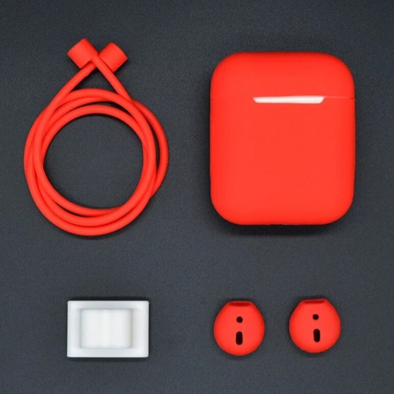 AirPods 1,2 Hülle (Rot)