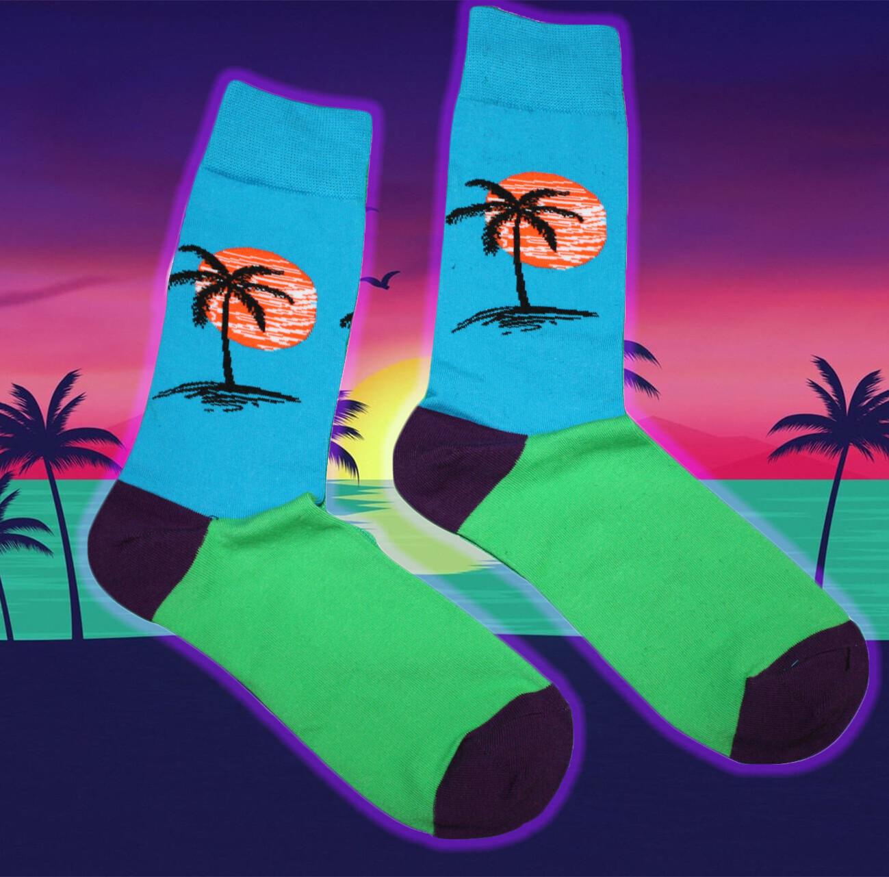 Coole Palmen Socken