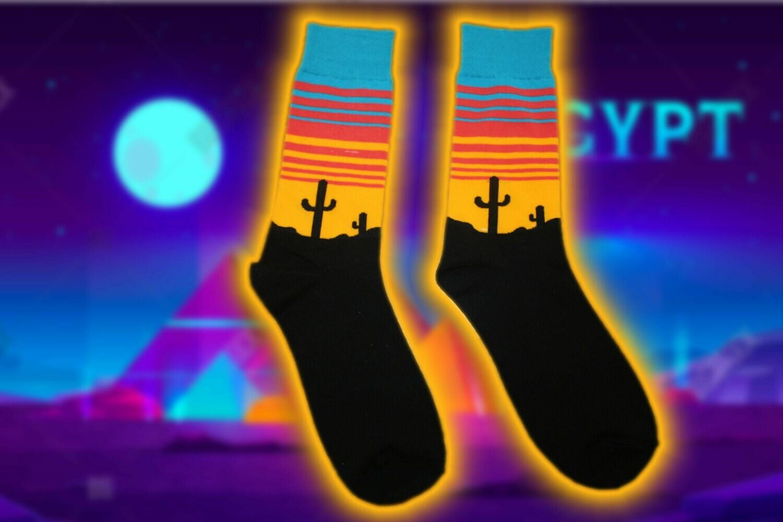 """Socken mit """"Desert """" Print  ⛱ 🧦"""