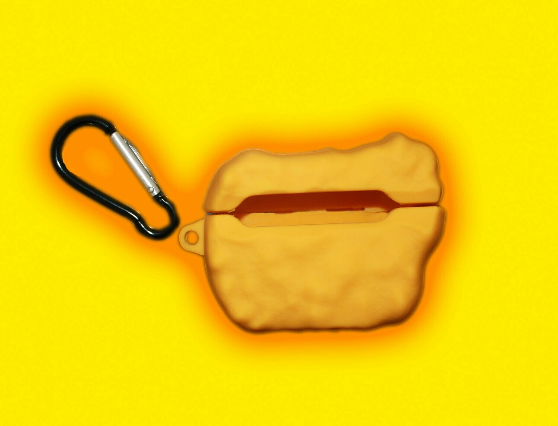 Gelbe Cookie AirPods Hülle