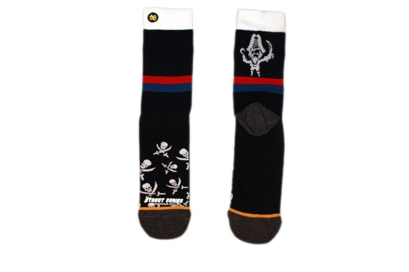 American football style Hoche Socken