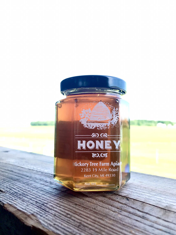 Raw Honey (1/2lb Jar)