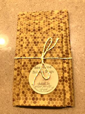 Beeswax Food Wraps (Honeycomb)