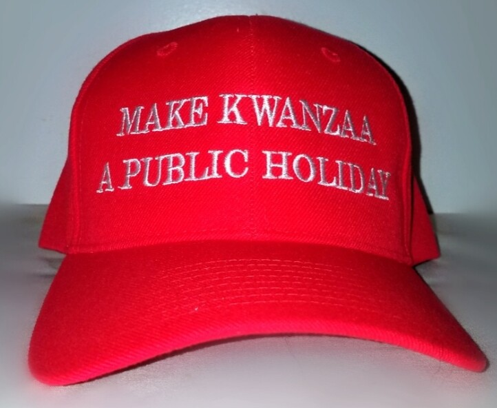 Make Kwanzaa A Public Holiday Cap