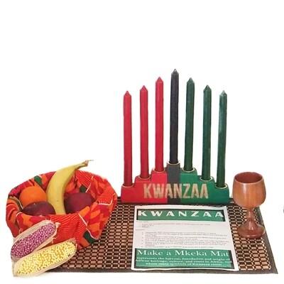 Traditional Kwanzaa Celebration Set (13 Piece)