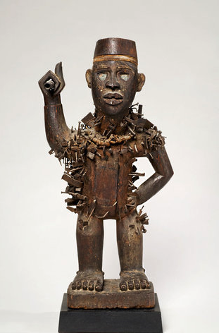 Nkisi Nkondi Figure