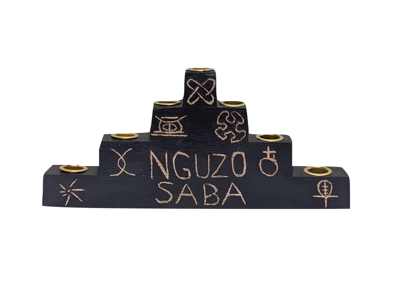 "Kwanzaa Kinara- ""Nguzo Saba'"