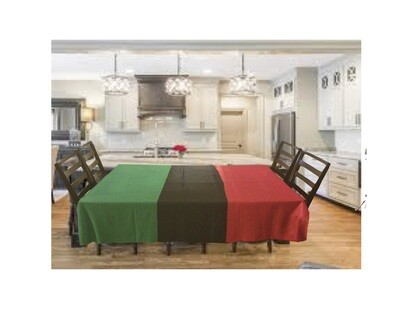 Pan African UNIA Flag Tablecloth