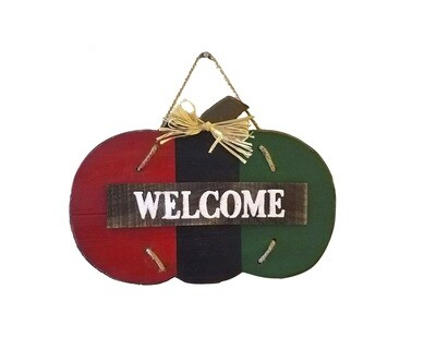 Pan African Welcome Wood Wall Decor