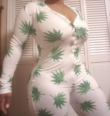 Women's Long Sleeve Pants Onesie