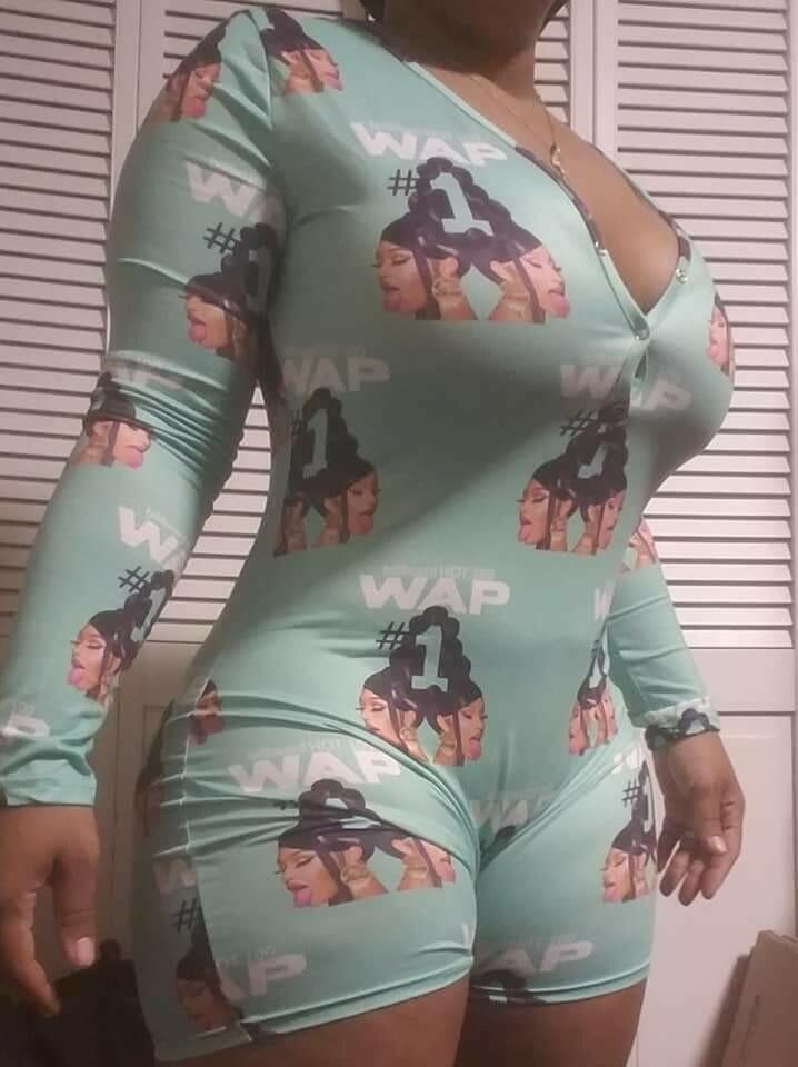 Limited Edition Womens Shorts Long Sleeve Onesies - WAP